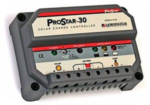 MorningStar 30 PWM Charge Controller - 30 Amp 12/24 Volts