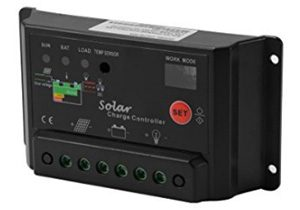 XCSOURCE 30A 12V/24V Solar Charge Controller