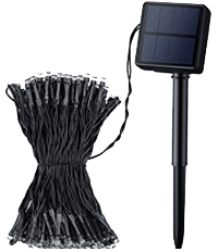 Solar String 200 LEDs - 72 Feet