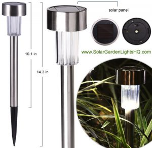 Kinna Stainless Steel Solar Lights