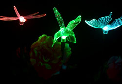 Solar Butterfly Light Garden Stake