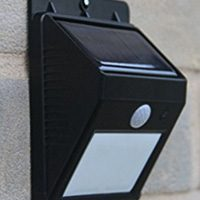 Frostfire Solar Powered Motion Security Light