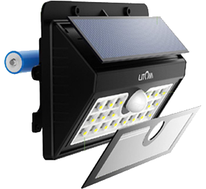 Litom 20 led solar motion sensor security lights review mozeypictures