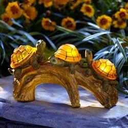 Moonrays 91515 Turtles Solar Light