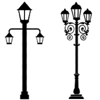 solar light posts for driveways