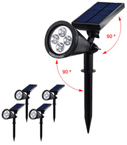 Hallomal In-Ground 2 Modes Solar Spotlights