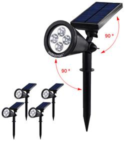 Hallomal In-Ground 2 Modes Solar Spotlights