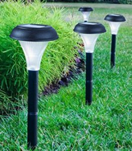 GardenBliss 10 Pack Yard Path Lawn and Landscape Lighting
