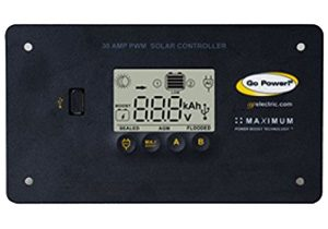 GoPower 30 Amp Solar Regulator