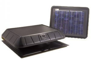 Remote Panel Solar Attic Fan