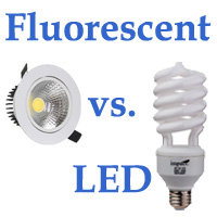Fluorescent vs LED