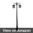 solar lamp post
