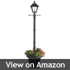 super bright solar lamp post