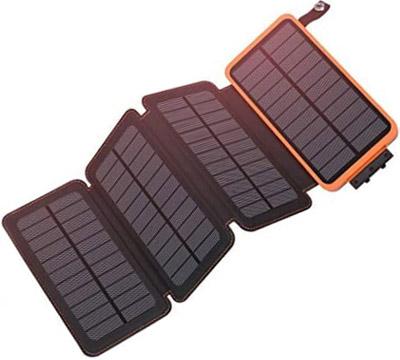 solar charger 25000mah battery solar power bank